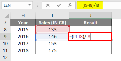 how to calculate percentage example
