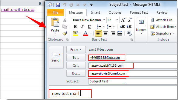what is cc and bcc in email with example