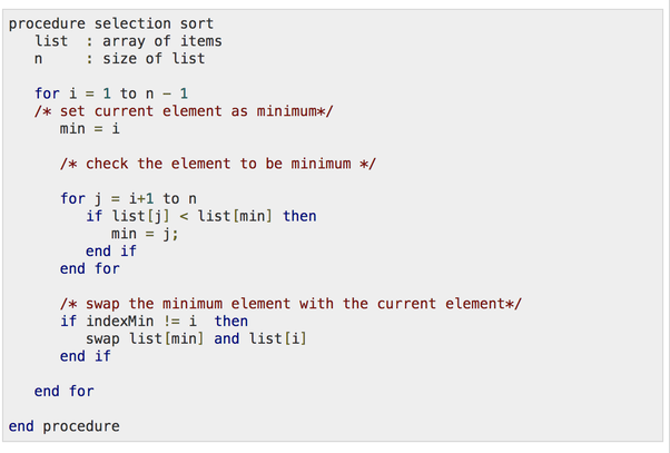 explain insertion sort algorithm with example