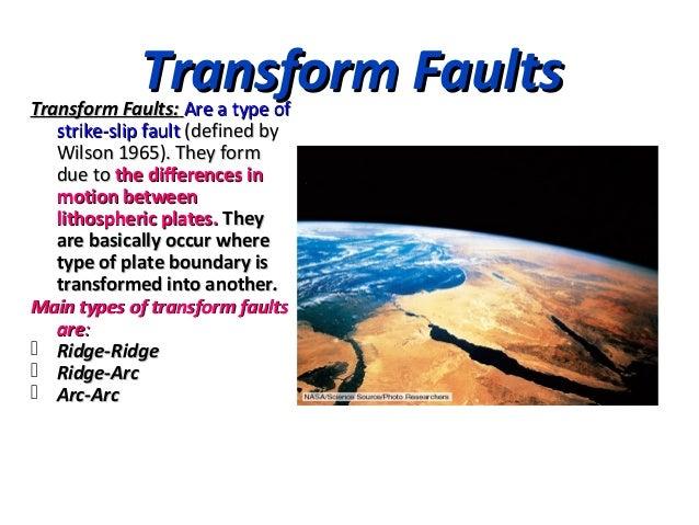 transform boundary real world example