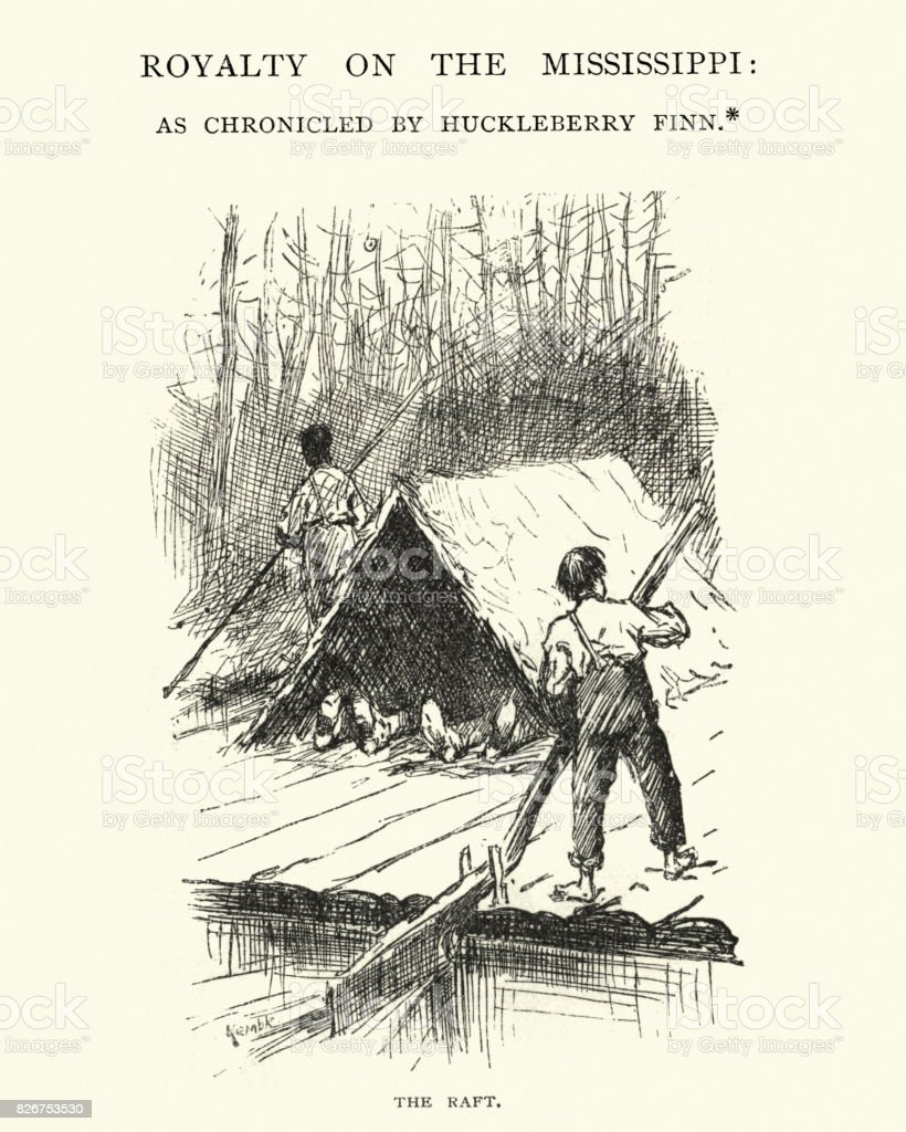 the example of huckleberry finn shows