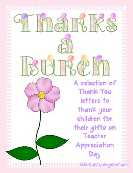 example of thank you letter for teacher