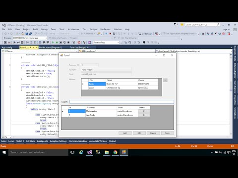 c# connect to sql server example