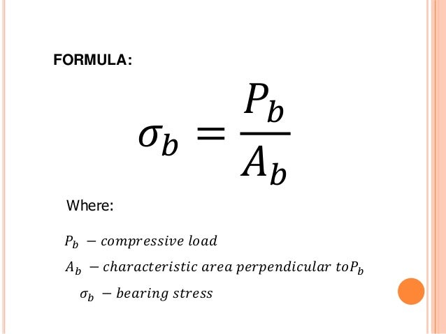 example of stress in force
