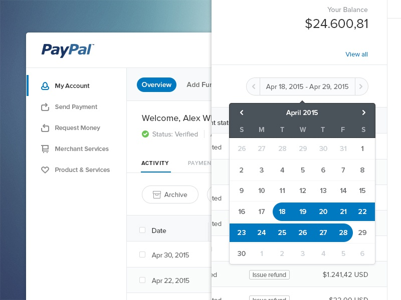paypal recurring payments api example