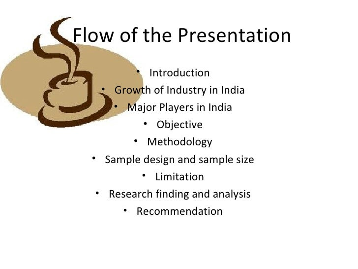 introduction for a presentation example