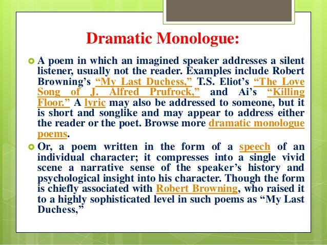 example of monologue about love