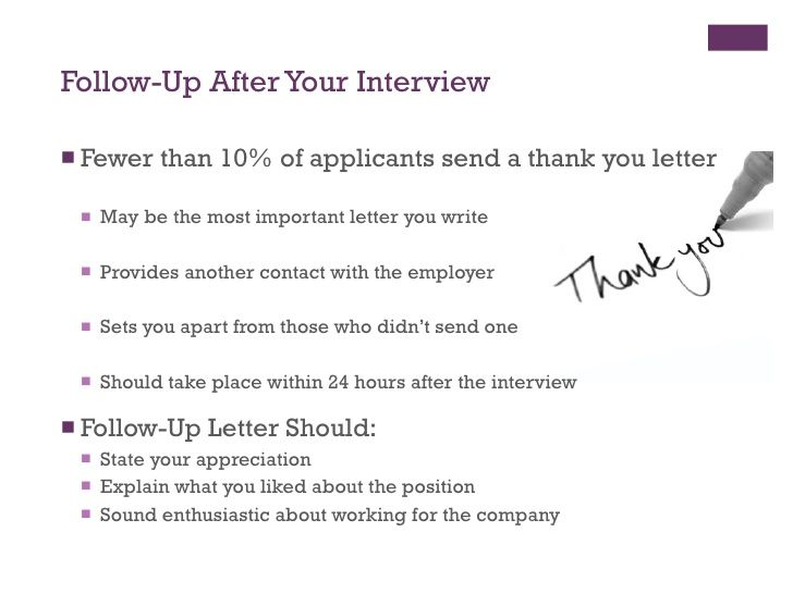 example email to follow up after interview