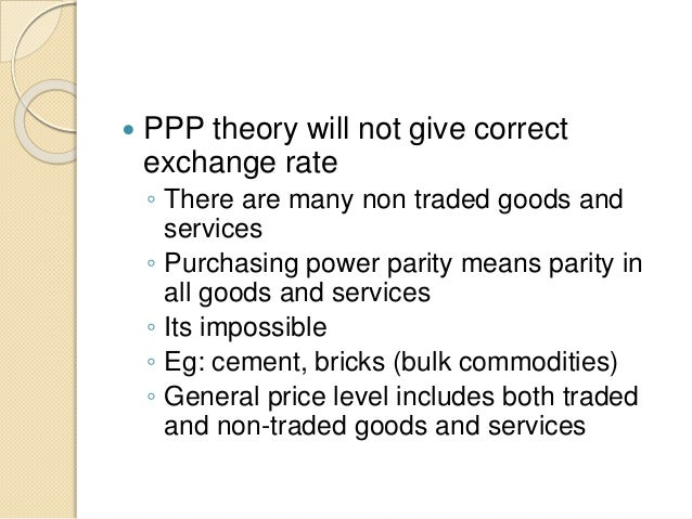 purchasing power parity formula example