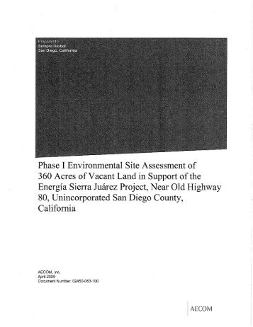 phase 2 environmental site assessment example