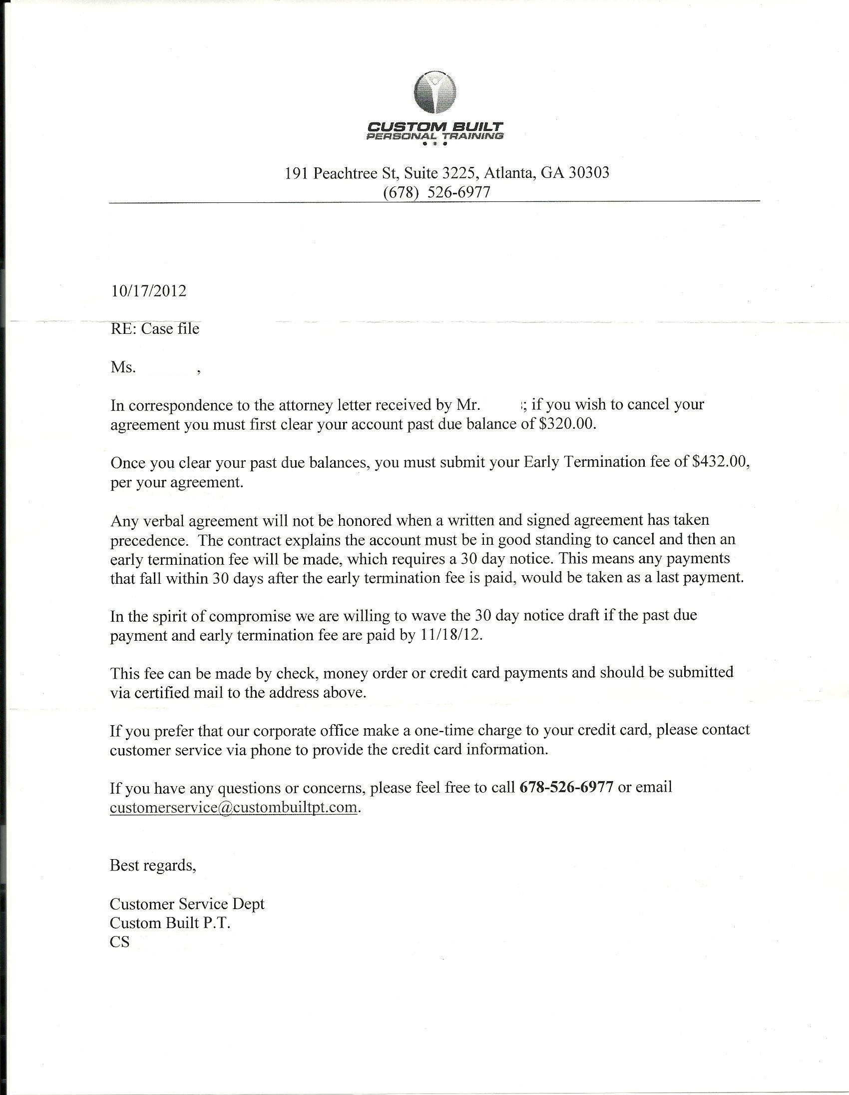 example response letter to demand letter