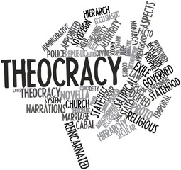 what is an example of theocracy
