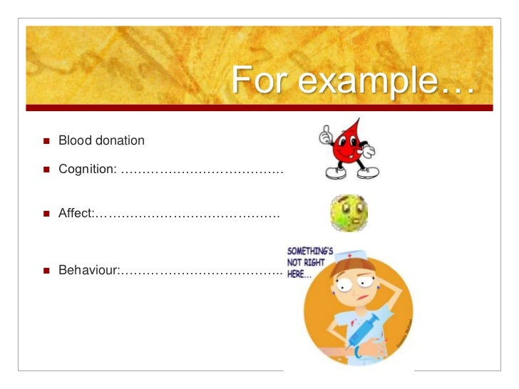 example of the six functions of behaviours