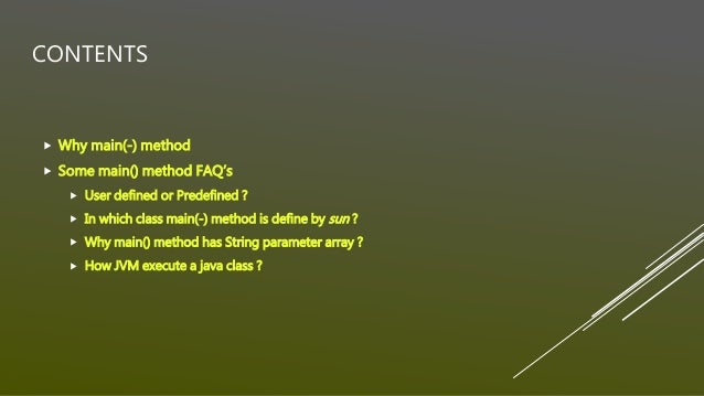 post method example in java