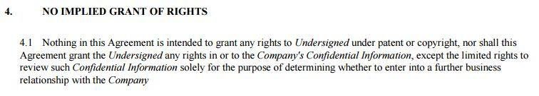 what is an example of an implied contract