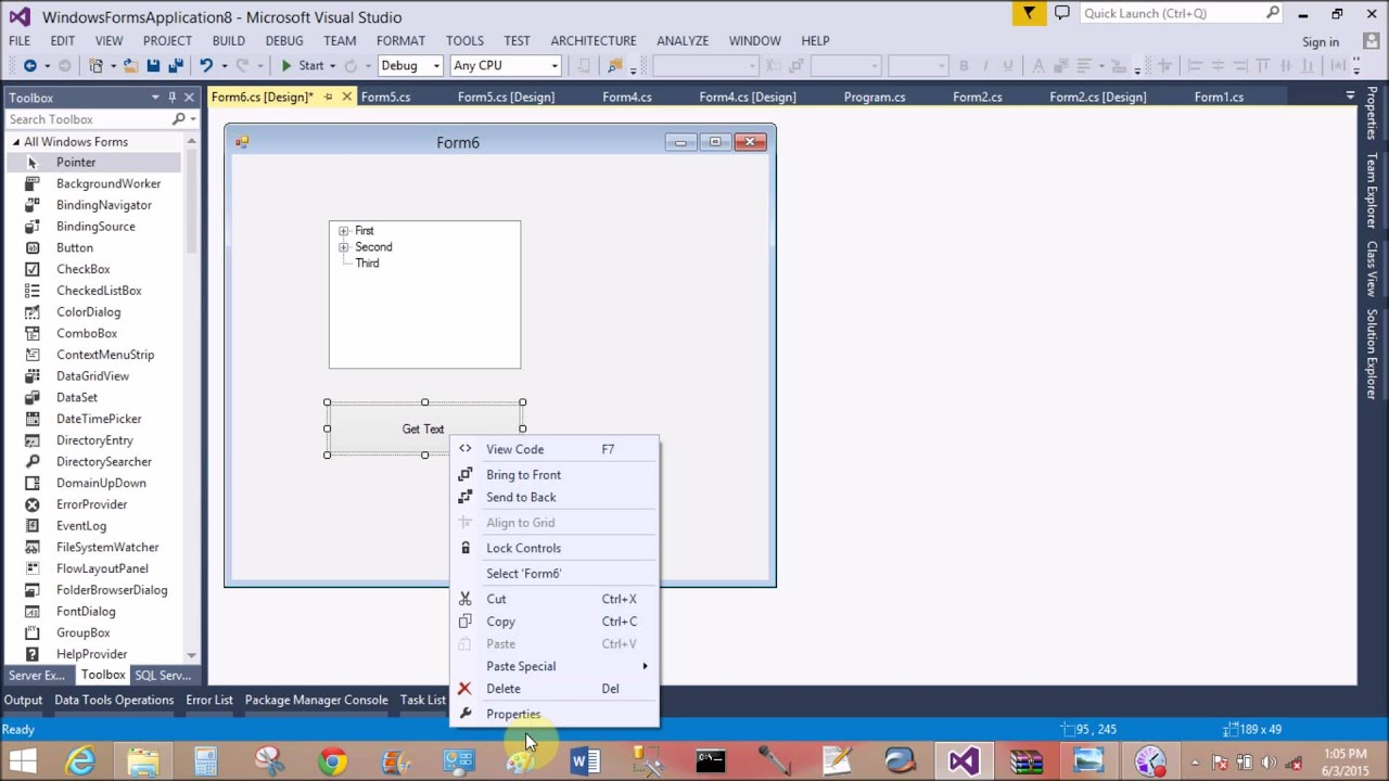 datagrid in c# windows application example