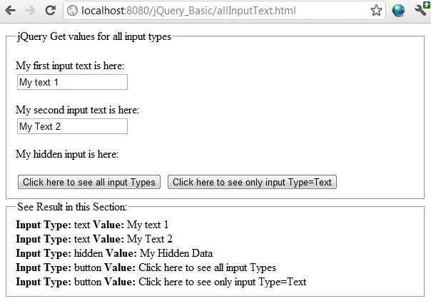 dynamic array in javascript example with for loop