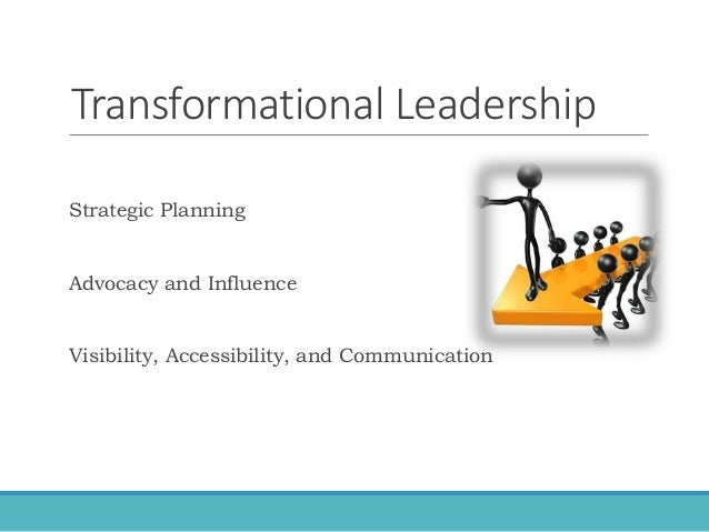 an example of transformational leadership in nursing