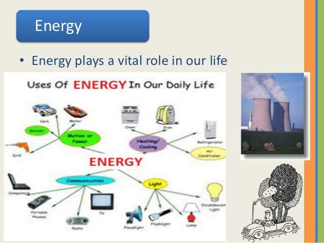 example of degradation of energy in daily life
