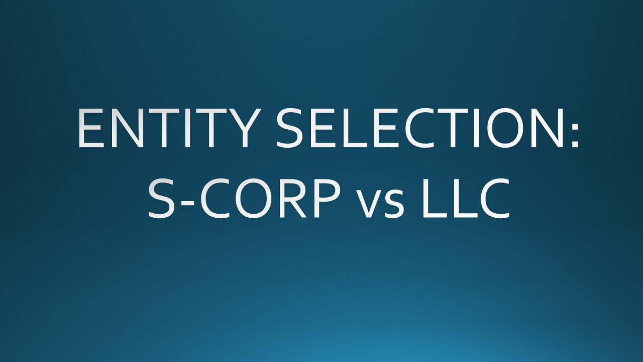 s corp vs llc tax example