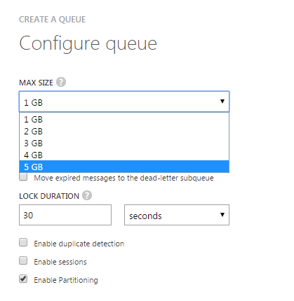 azure service bus queue example c
