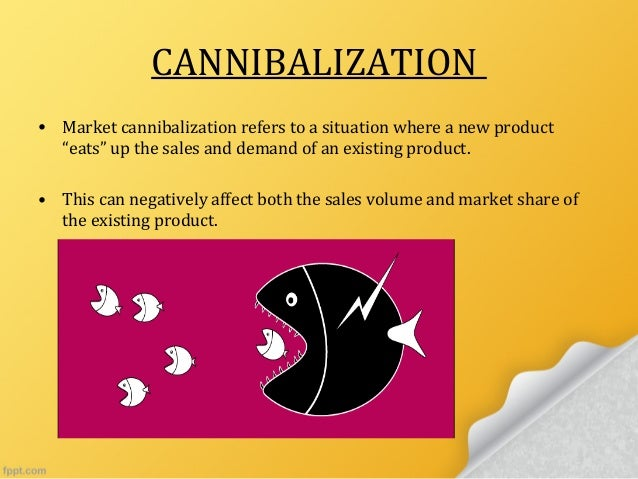 example of cannibalization in finfance