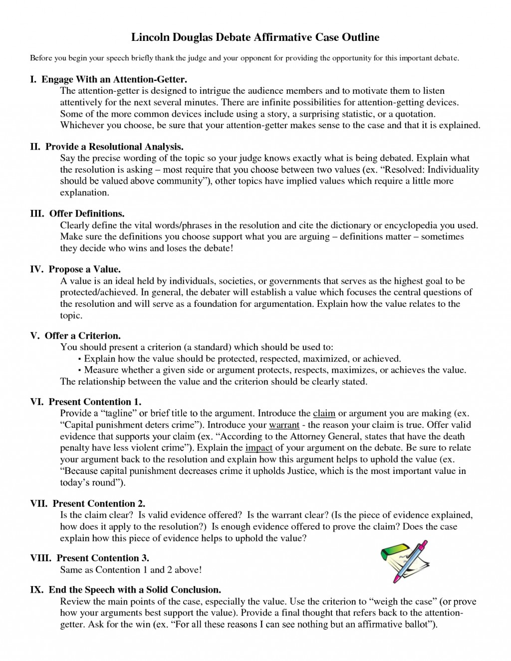 example of argumentative research paper outline