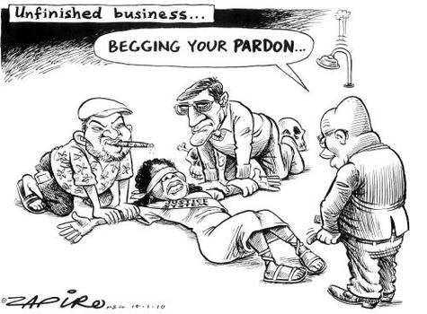ho is power of one an example of apartheid