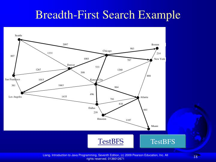 breadth first search algorithm with example