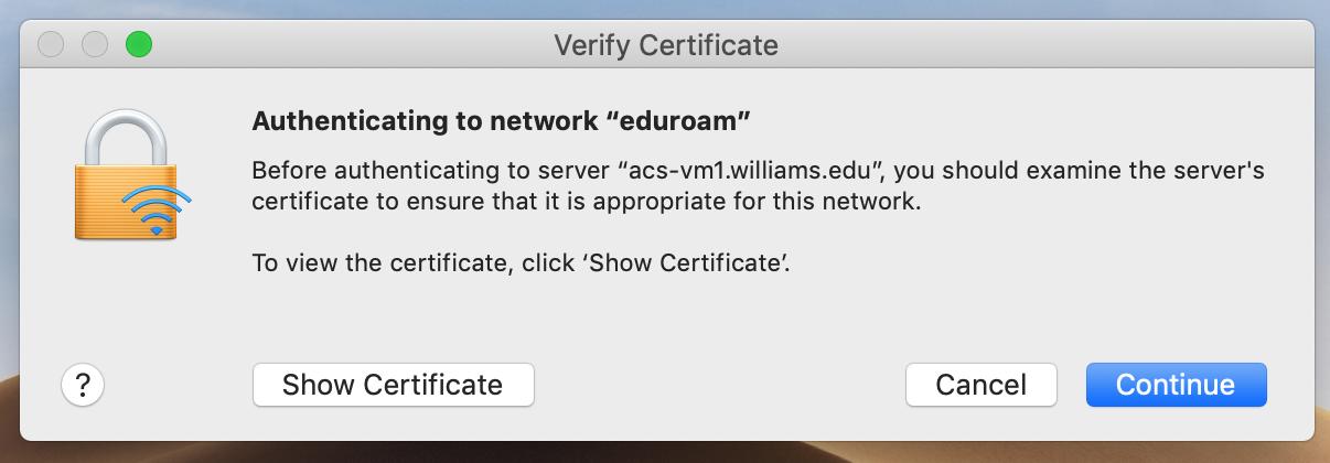 eduroam what is a login example