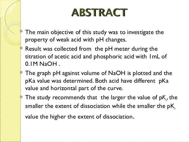 what to include in an abstract example