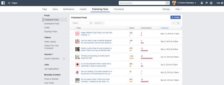 facebook.publish example spring social
