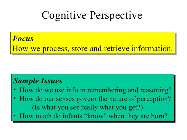 example of retrieval in psychology