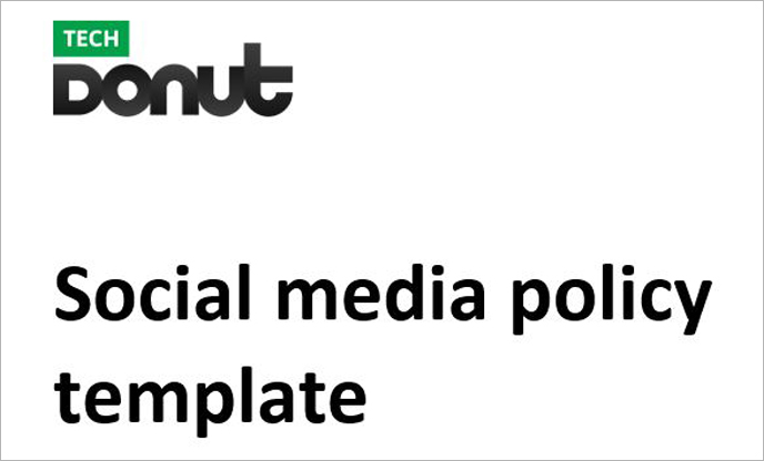 example social media policy for teachers