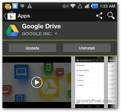 google drive api for android example