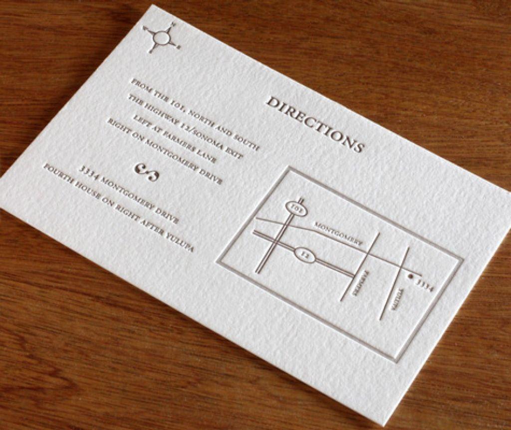 example of destination wedding invitation with reception
