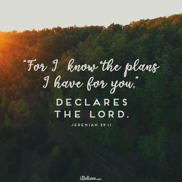 example bible jerimiah 29 7