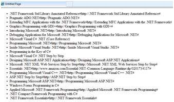 example of displaying objects in a web application asp.net