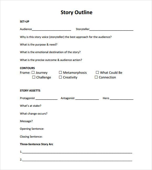 example of short novel story