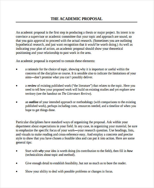 format of research proposal example