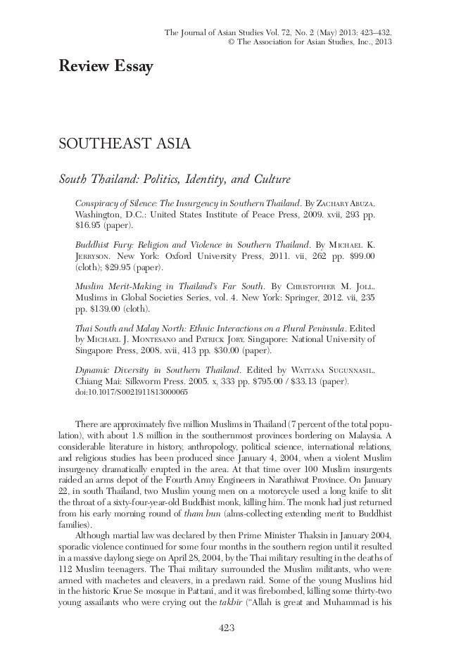 free example political identity essay