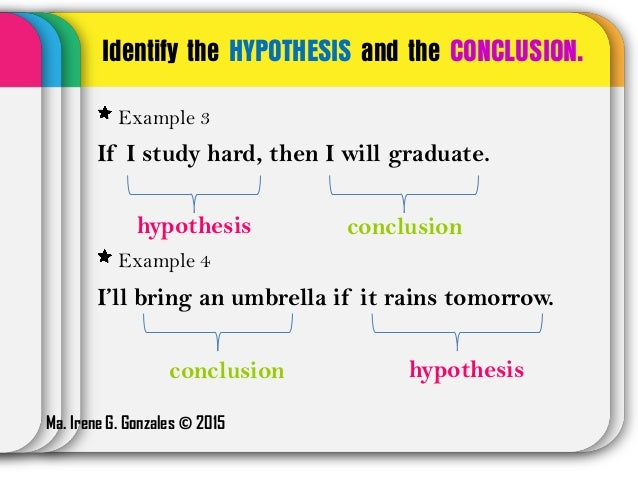 how to write a hypothesis example