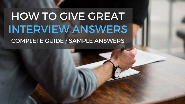 interview questions give an example of when