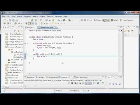 junit example code in java