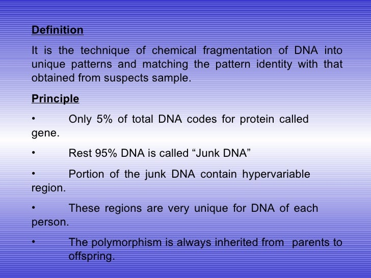 matching principle definition and example