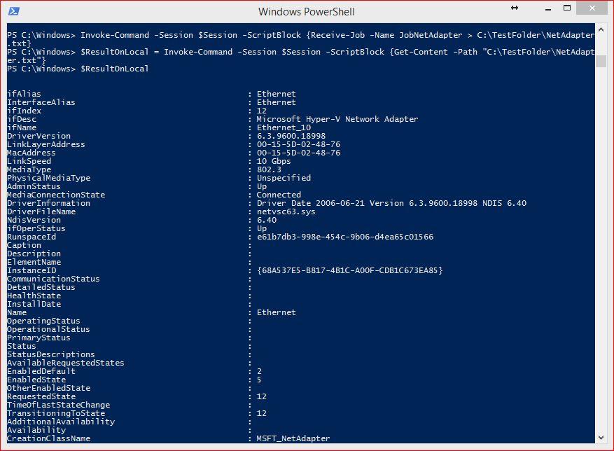 powershell invoke command remote computer example