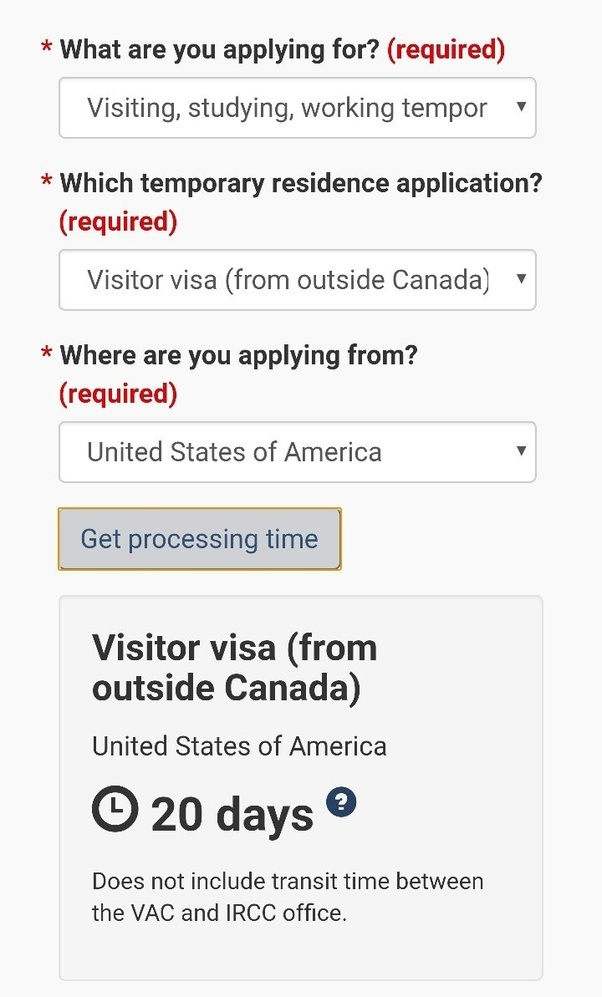 reason for travel example canada visa application