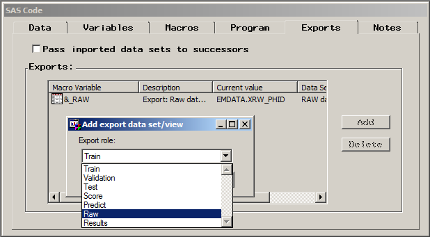 sas sql drop table example
