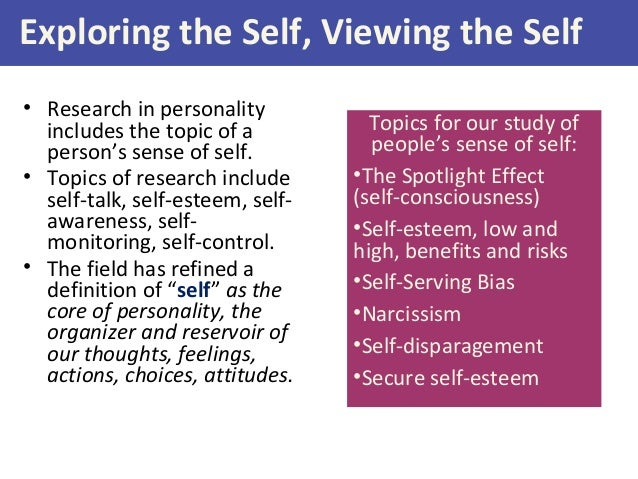 sociometer theory of self esteem example
