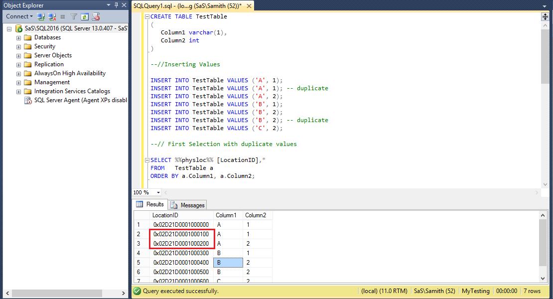 sql to remove duplicates example